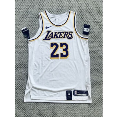authentic lebron james jersey white