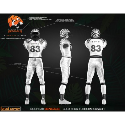 bengals all white jersey