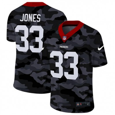 camouflage packer jersey