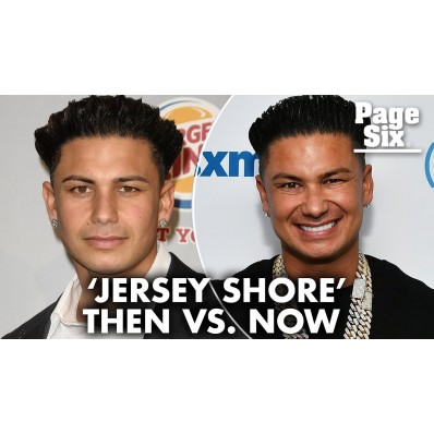 cast of jersey shore then and now