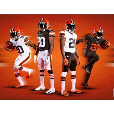 color rush browns jersey