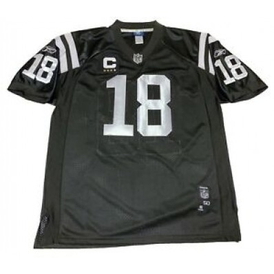 indianapolis colts black jersey