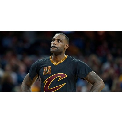 lebron james black jersey with sleeves