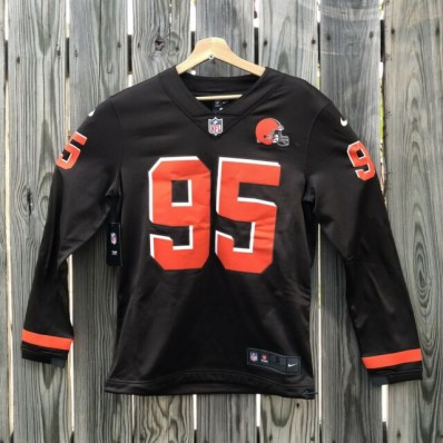 stitched browns jersey